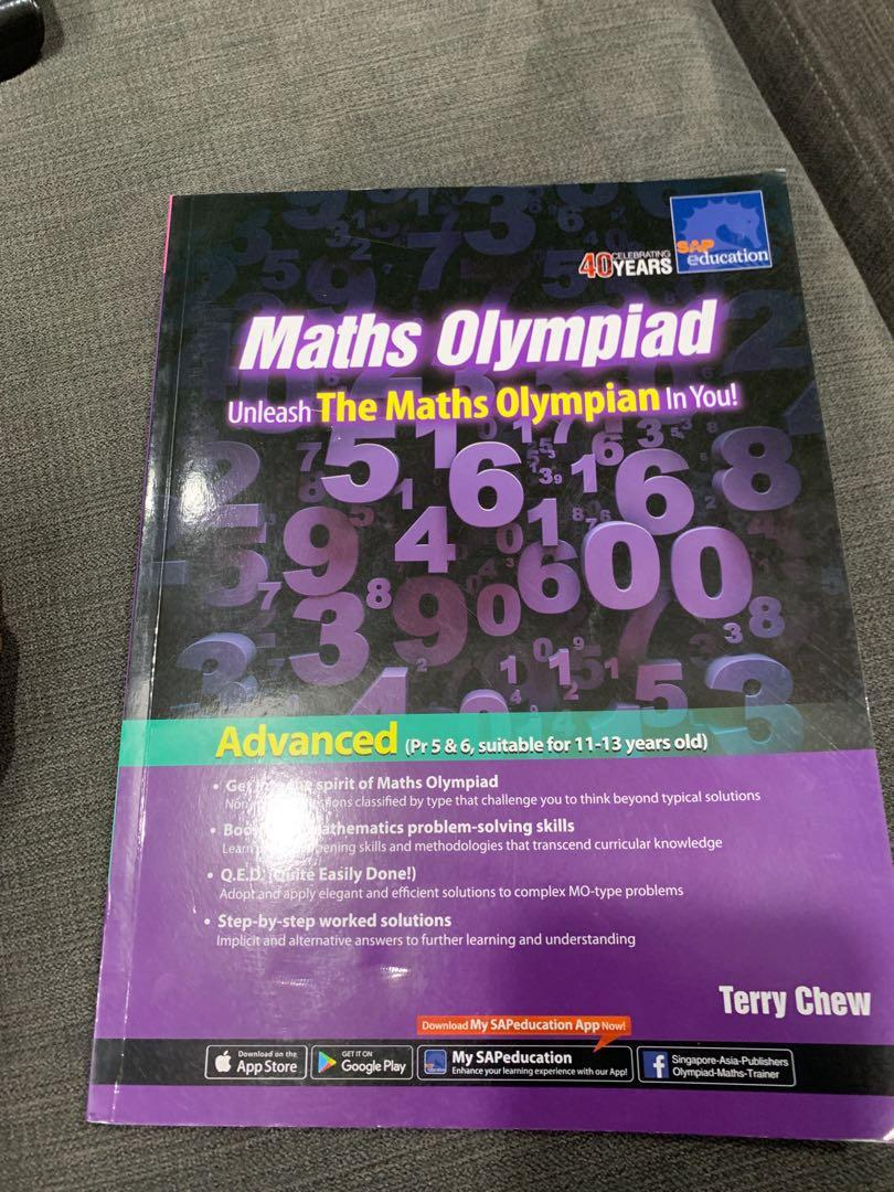 Maths Olympiad, Books & Stationery, Textbooks, Primary on