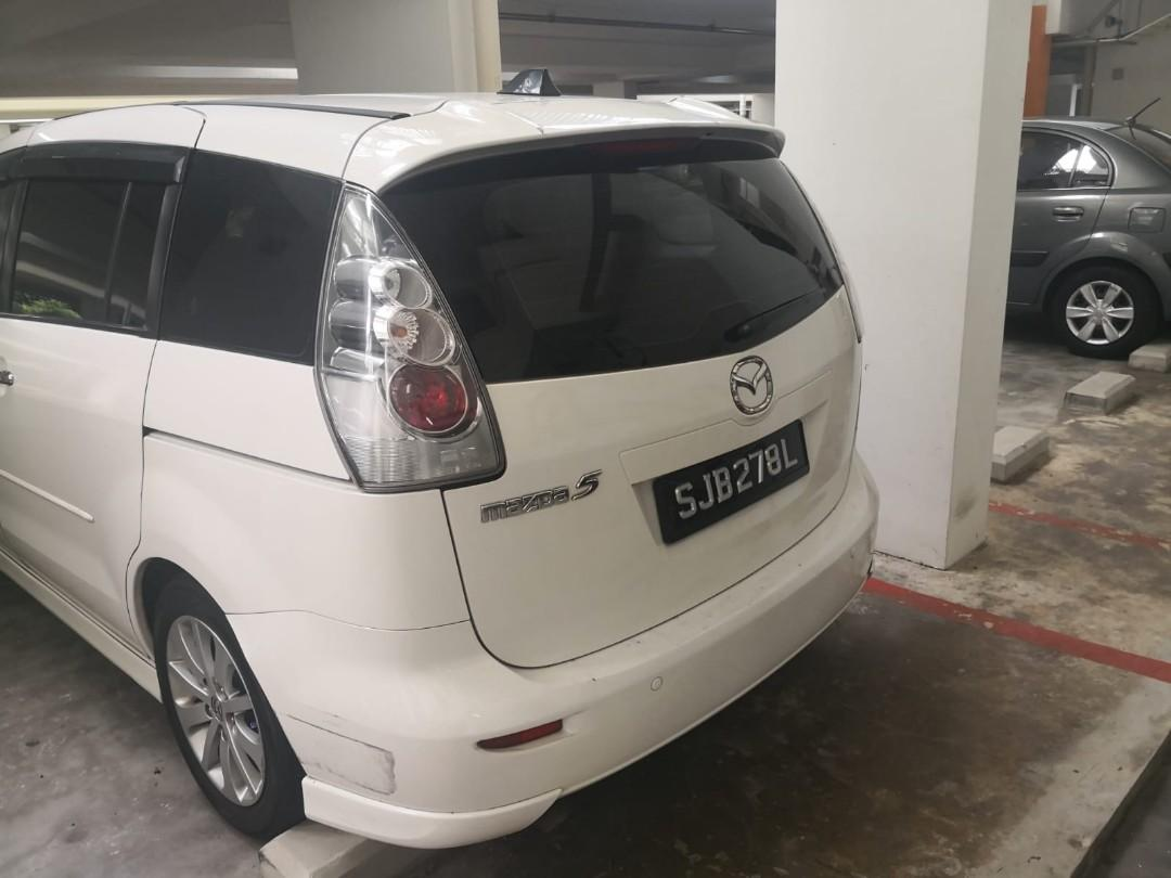 Mazda 5 for rent !Welcome GRAB/GOJEK/TADA/RYDE/PERSONAL USE