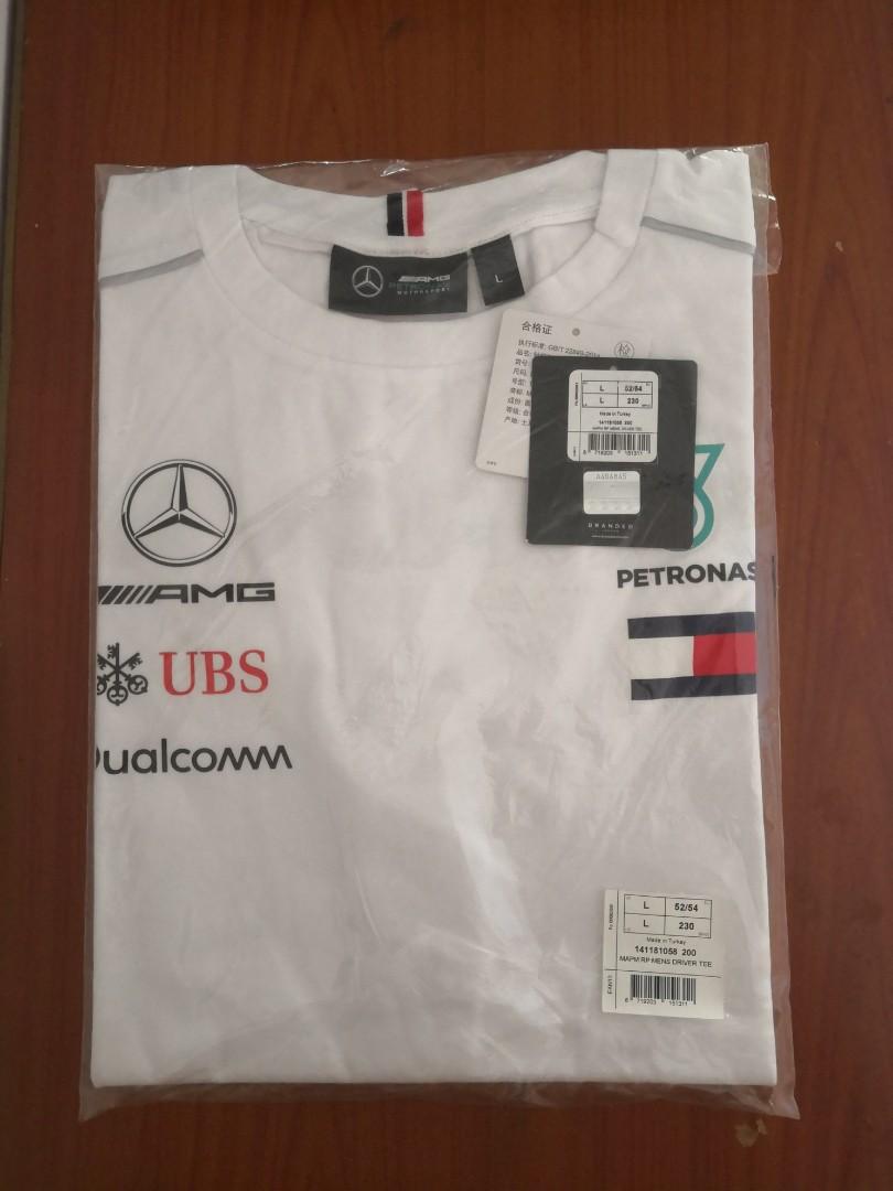 f08542f1c Mercedes AMG Petronas team tee shirt by Tommy Hilfiger, Men's ...