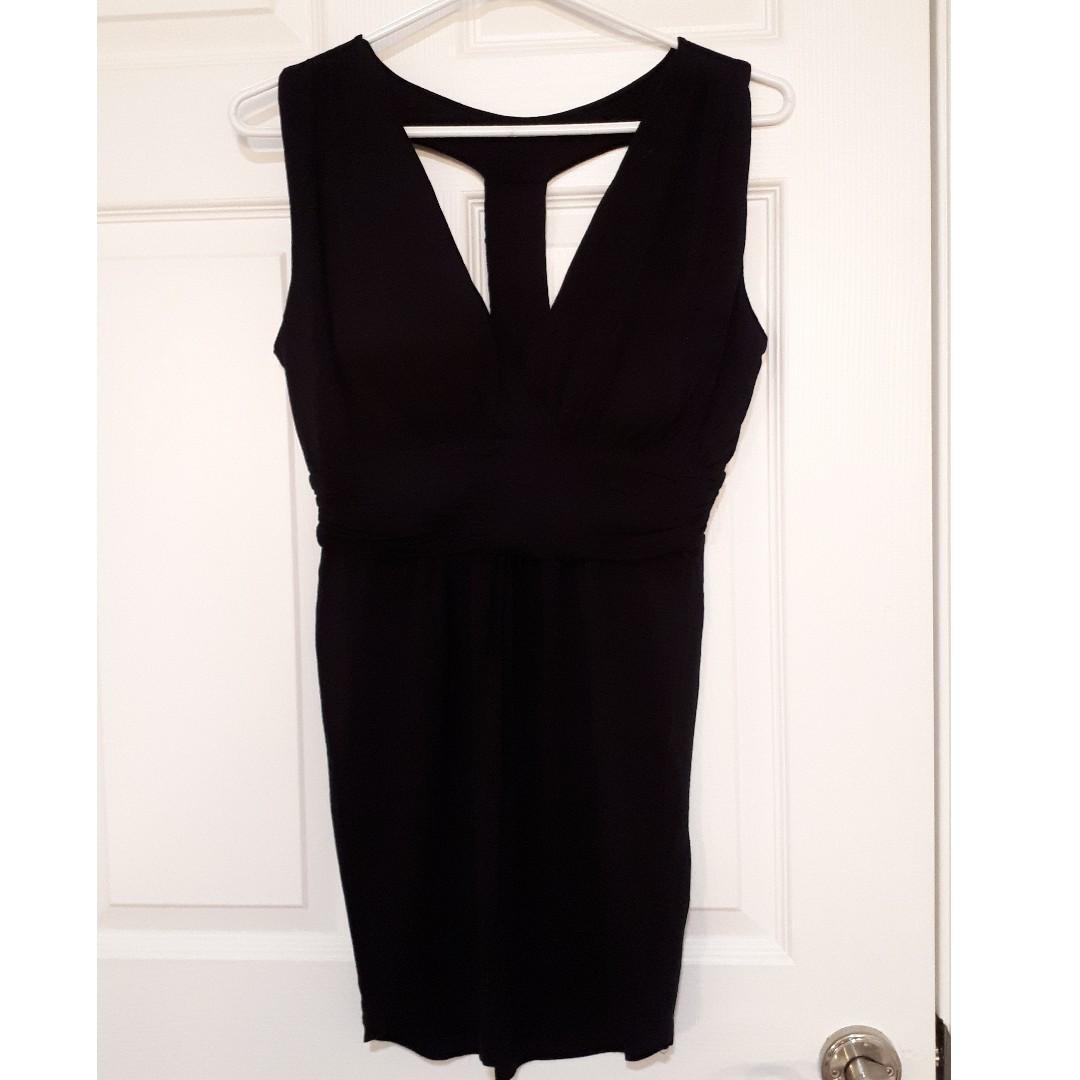 Mini Black Dress -size S