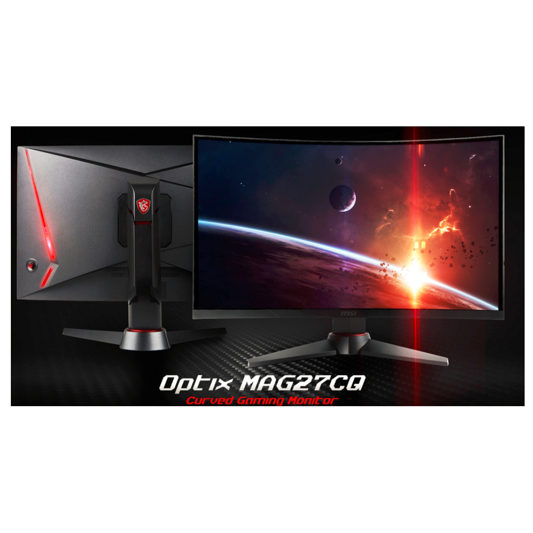 MSI Optix MAG27CQ Curved Gaming Monitor - FREE MSI GH60 Gaming Headset with  purchase! - ITSHOW2019 PROMO!!