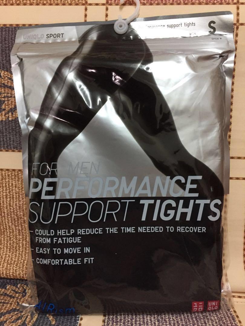 Uniqlo 黑色緊身保暖運動褲 Black Tights
