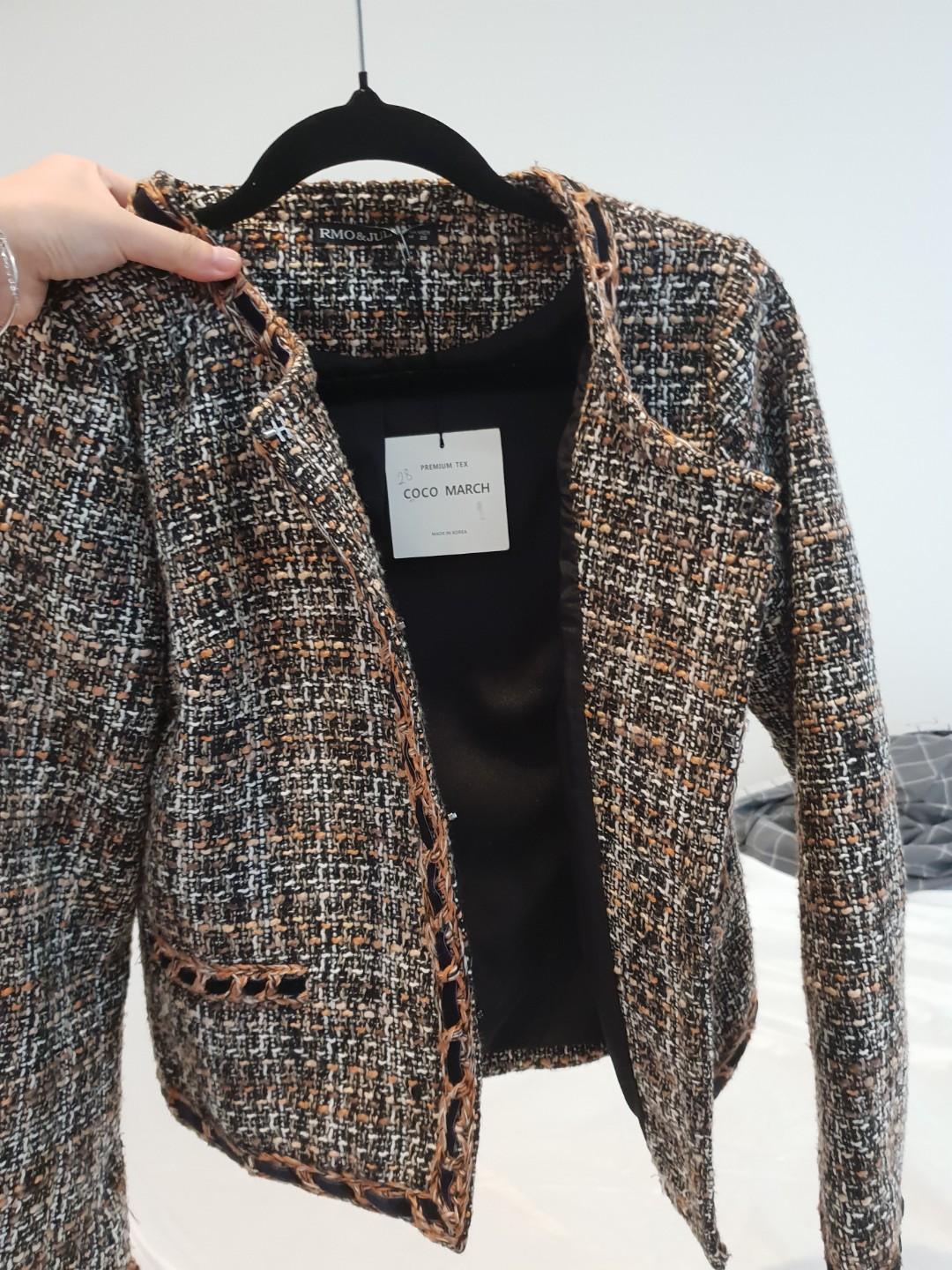 New Korean Tweed Jacket