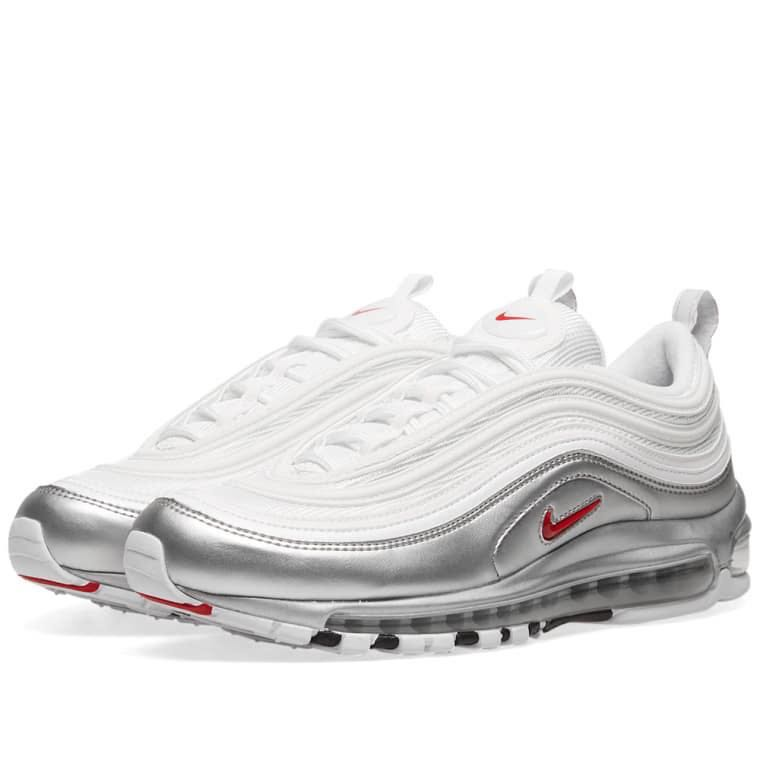 super popular aac9a 93949 Nike air max 97 varsity red white