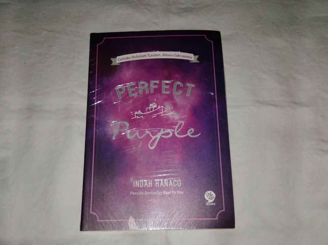 Novel Perfect Purple - Indah Hanaco