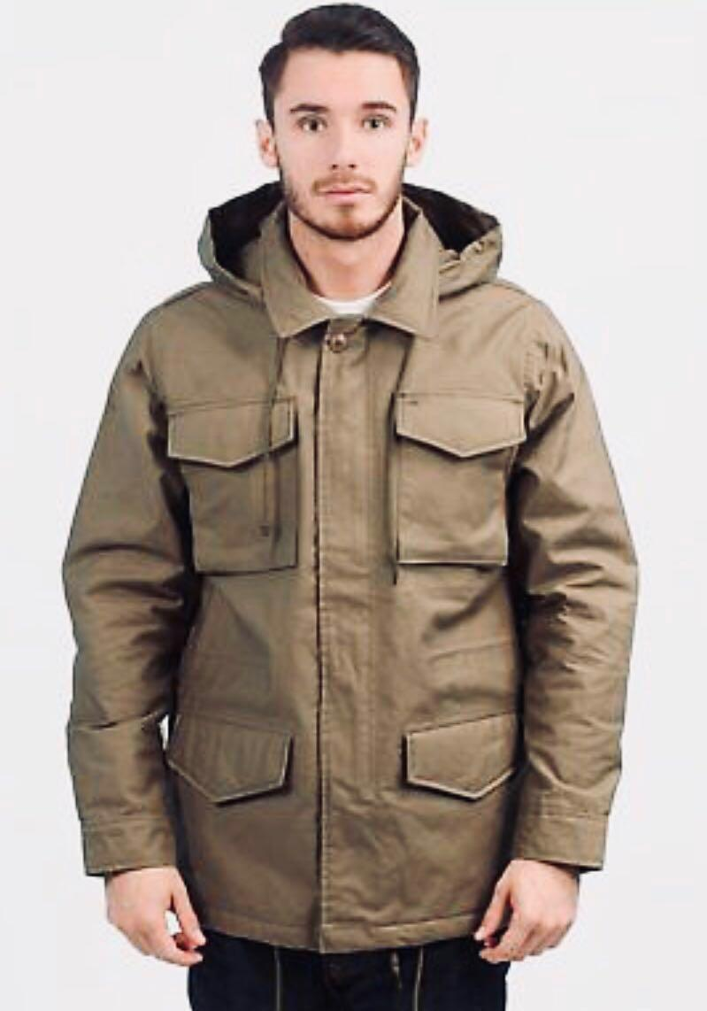 Obey Medium New Military M65 Army Jacket flight 厚身 中碼 軍綠色 軍褸