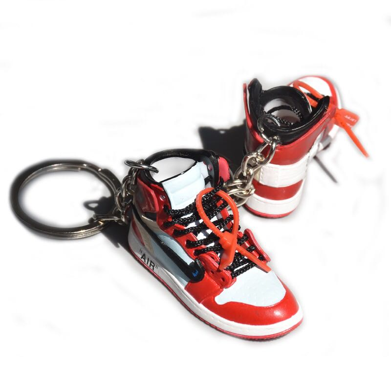 da33705788c0f4 Off White x Nike Air Jordan 1 Keychain