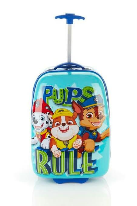 Paw patrol luggage bag