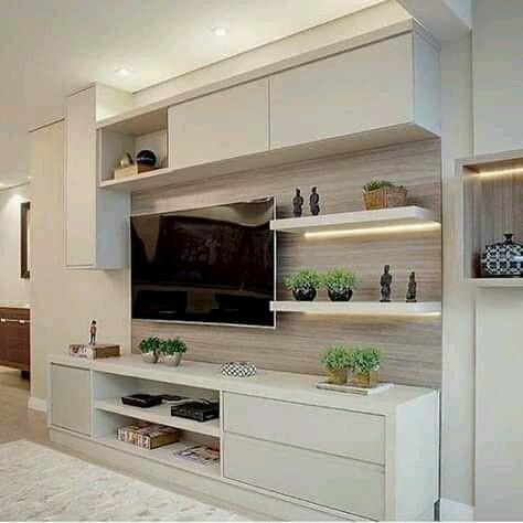 Pemanis Ruang Tamu Minimalis Rak Tv Home Furniture On
