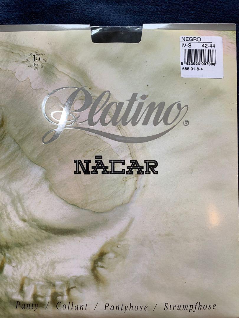 5507bacd19f Platino Nacar 15 denier Pantyhose Tights