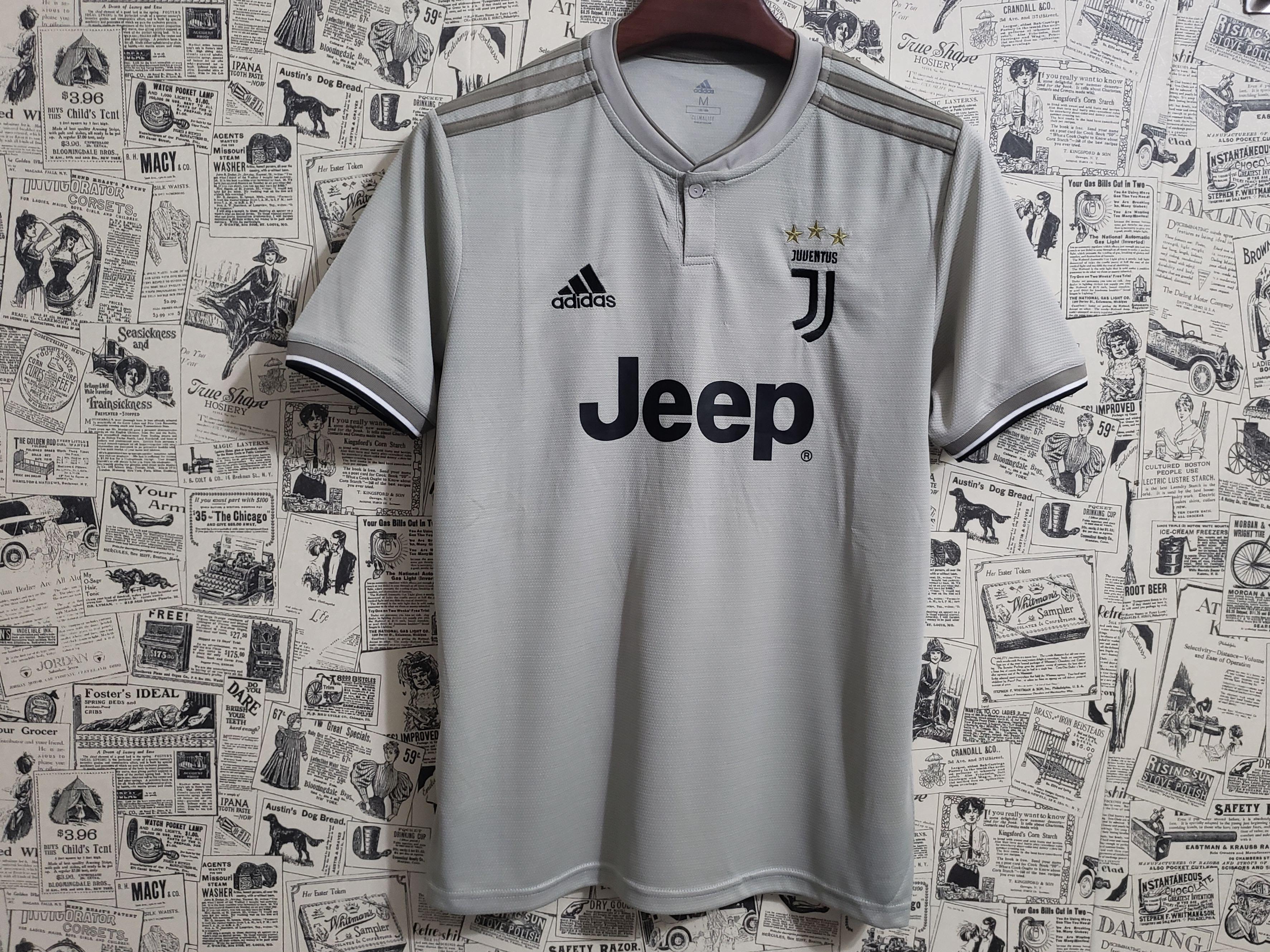 76d18eab162  PO  18-19 Juventus Away Soccer Jersey Shirt