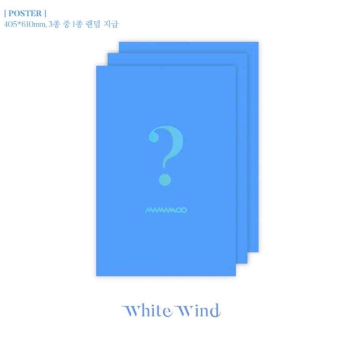 [Pre-order] MAMAMOO 마마무 (9TH MINI ALBUM 미니앨범) - WHITE WIND
