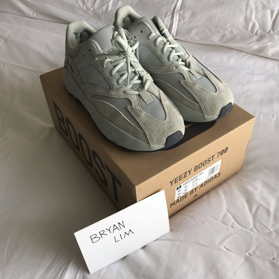 more photos 1d87a c97f1 (PRICE DROP) Adidas Yeezy Boost 700 Salt, Men s Fashion, Footwear, Sneakers  on Carousell