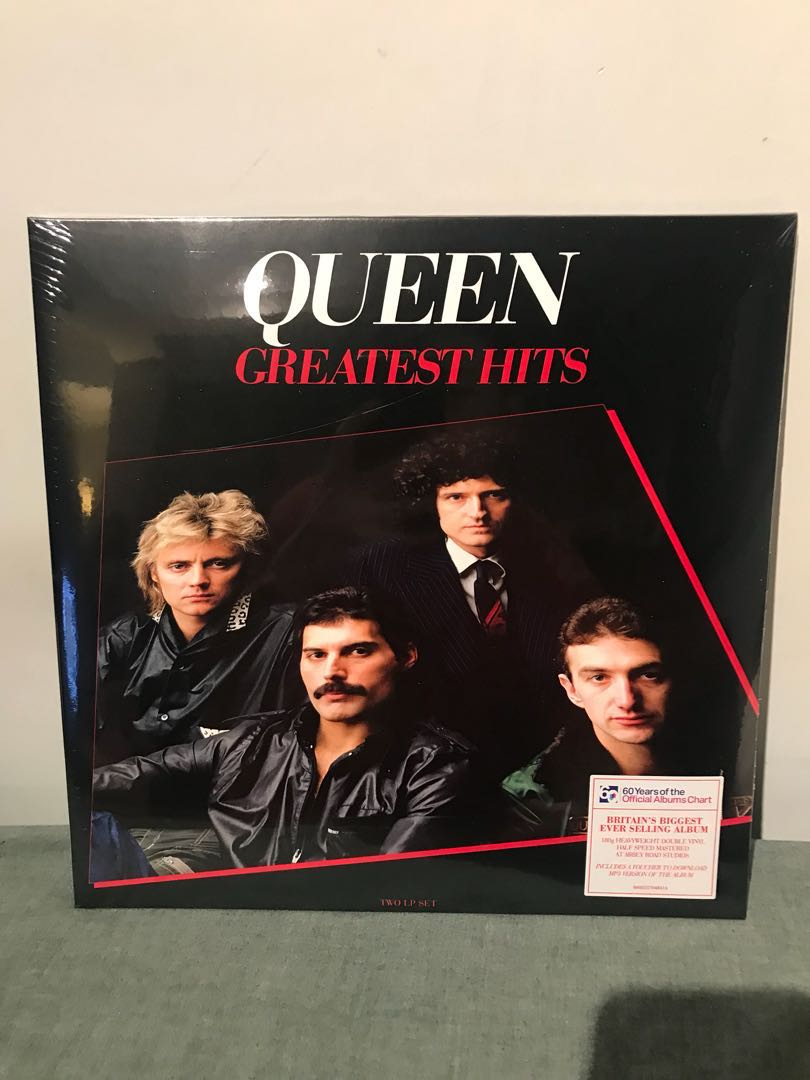 49649f084 Queen Greatest Hits 2xlp 180g Half Speed Mastering vinyl 黑膠唱片 ...