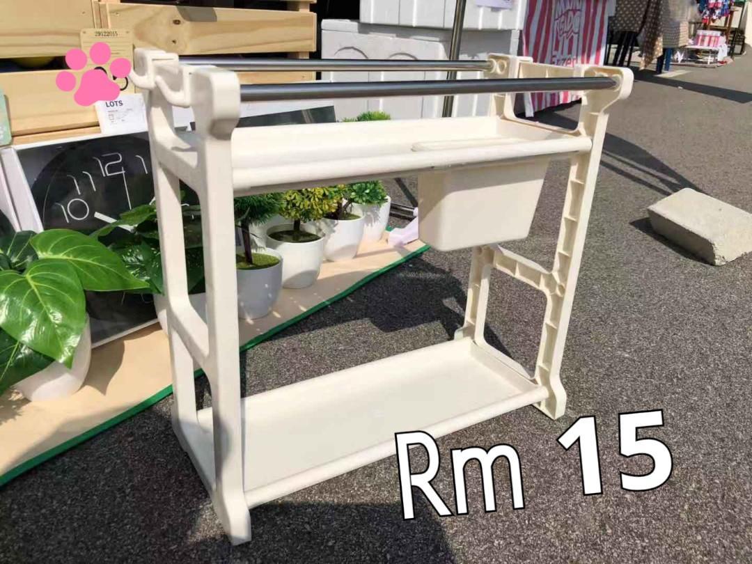 Rak Barang Dapur Home Furniture Furniture On Carousell