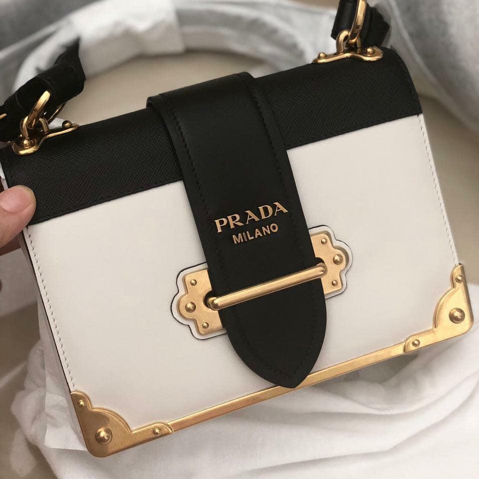 74023522f466 Ready Prada cahier mini white 20cm