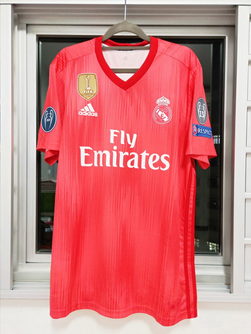 ce3bf27da7c Official Real Madrid Third Shirt 2018-19 with Bale 11