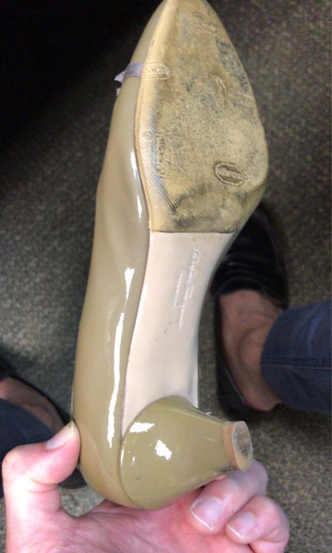 Salvatore Ferragamo Heels Nude Heels