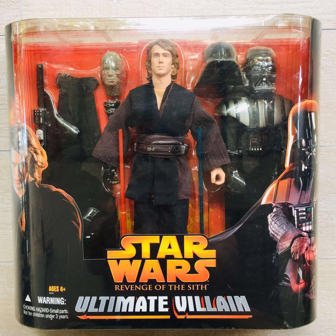 Star Wars Revenge Of The Sith Anakin Skywalker Darth Vader 12 Inch Scale Action Figure Retro Collection Archive Ultimate Villain Black Series 6 Hasbro Sith Trooper Mandalorian Rise Of Skywalker Toys