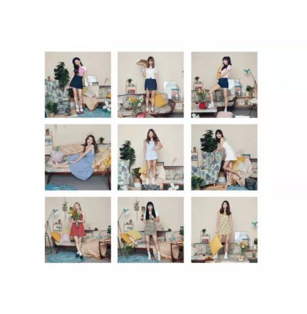TWICE 트와이스 <ONCE HALLOWEEN FANMEETING> OFFICIAL 9 PIECES POSTCARD SET - FACTORY SEALED ORIGINALLY