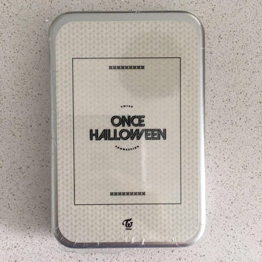 TWICE ONCE HALLOWEEN -PHOTOCARD SET {18 CARDS} -SEALED IN ORIGINAL CONDITION