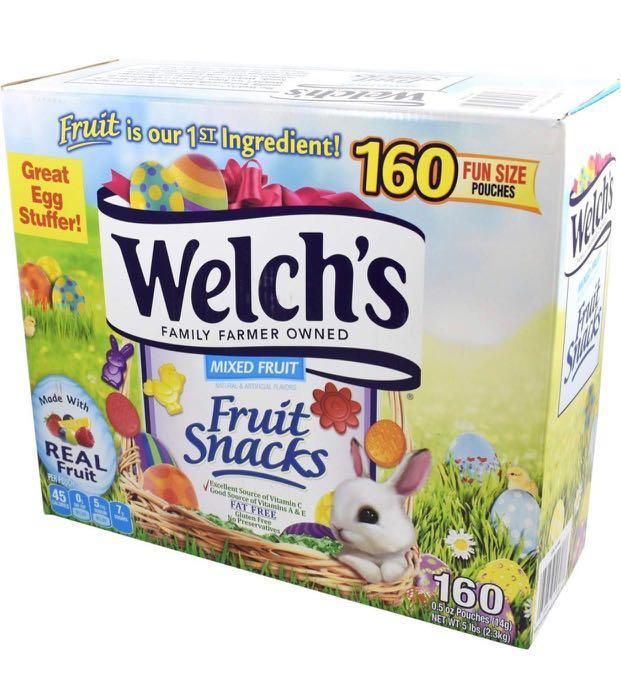 復活節限量版Welch's果汁軟糖(160小包/盒)