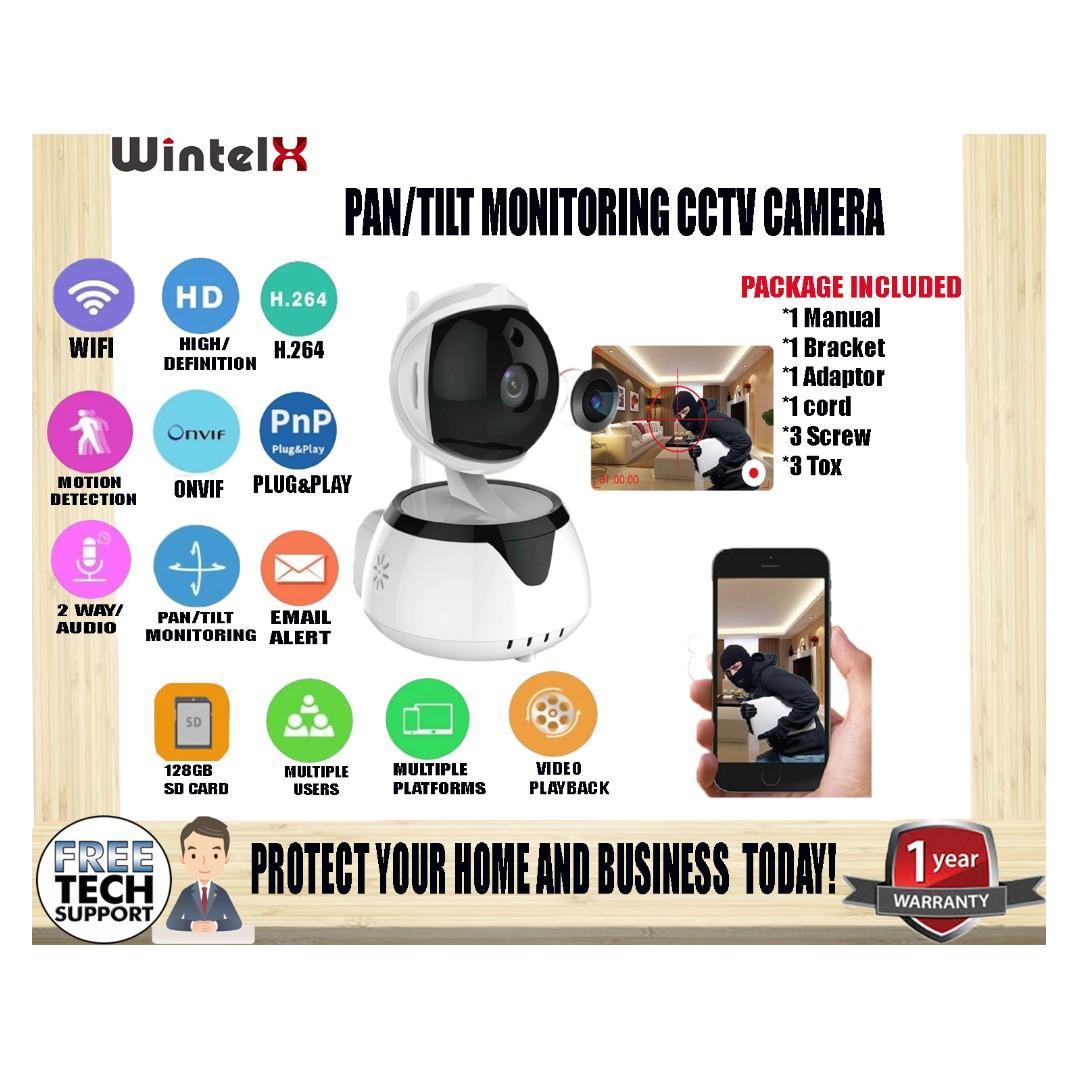 WintelX Cheap CCTV security Ptz IP Camera smart home ICsee phone