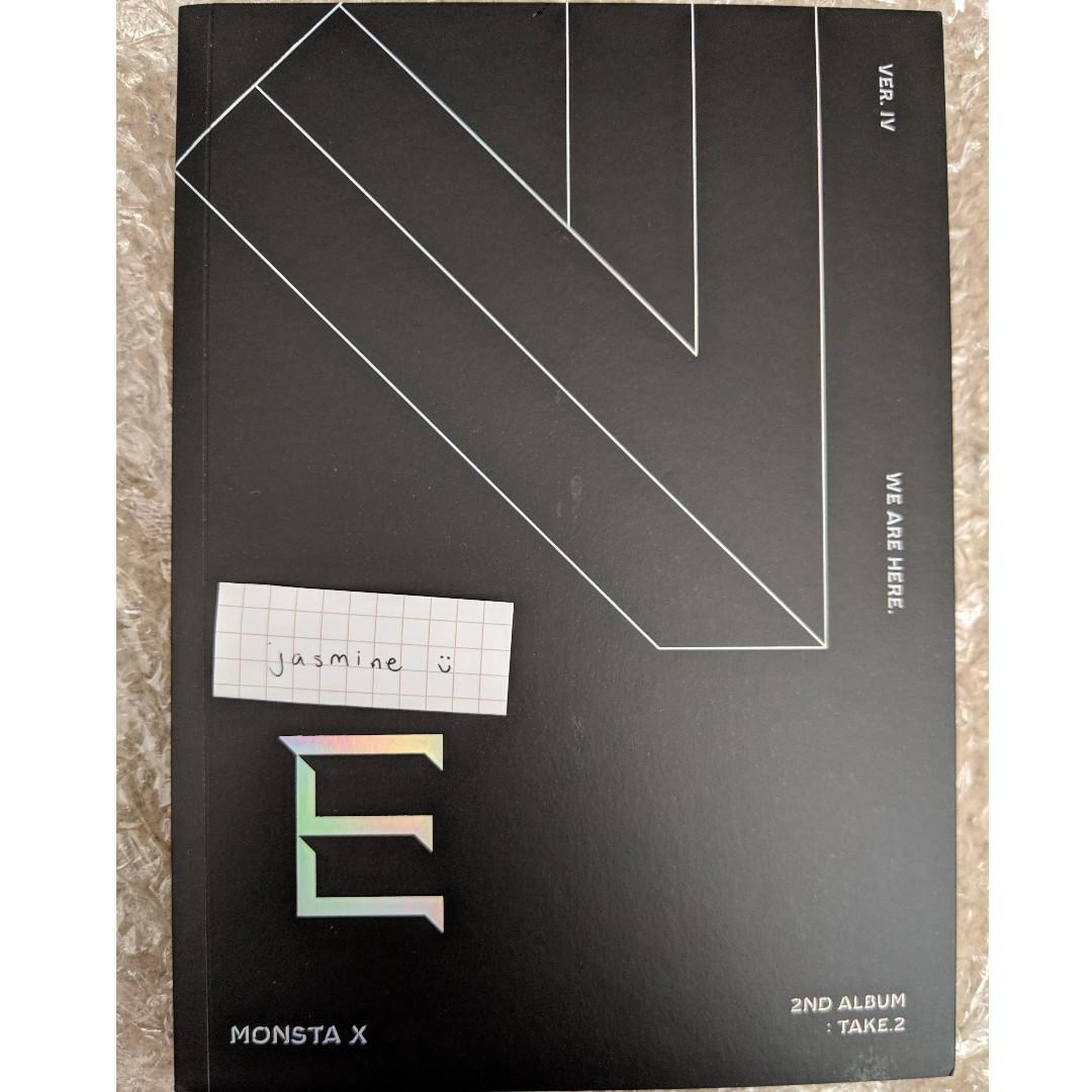 WTS Monsta X We Are Here albums
