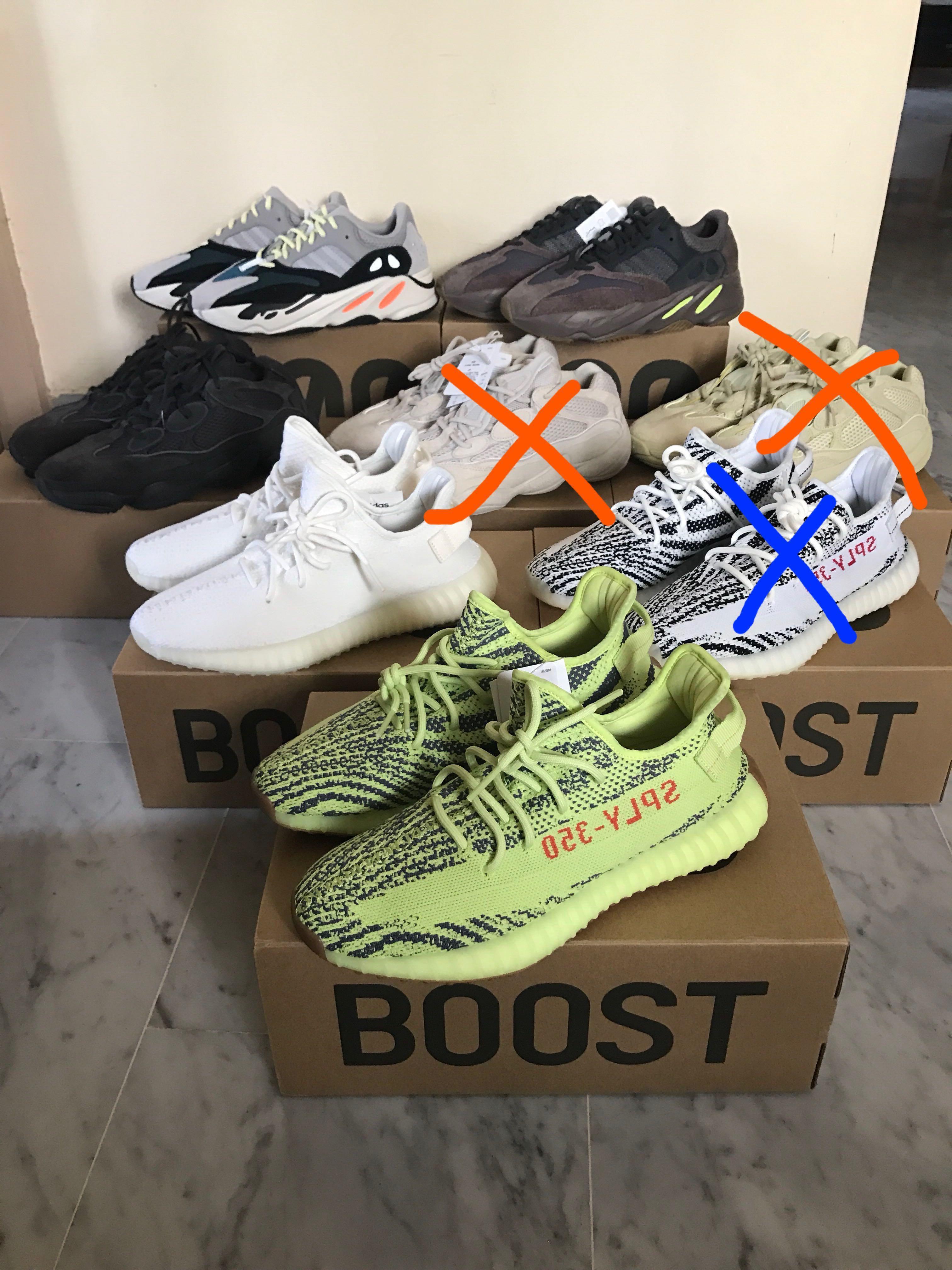 online store d558b 23af3 Yeezy 350/500/700, Men's Fashion, Footwear, Sneakers on ...
