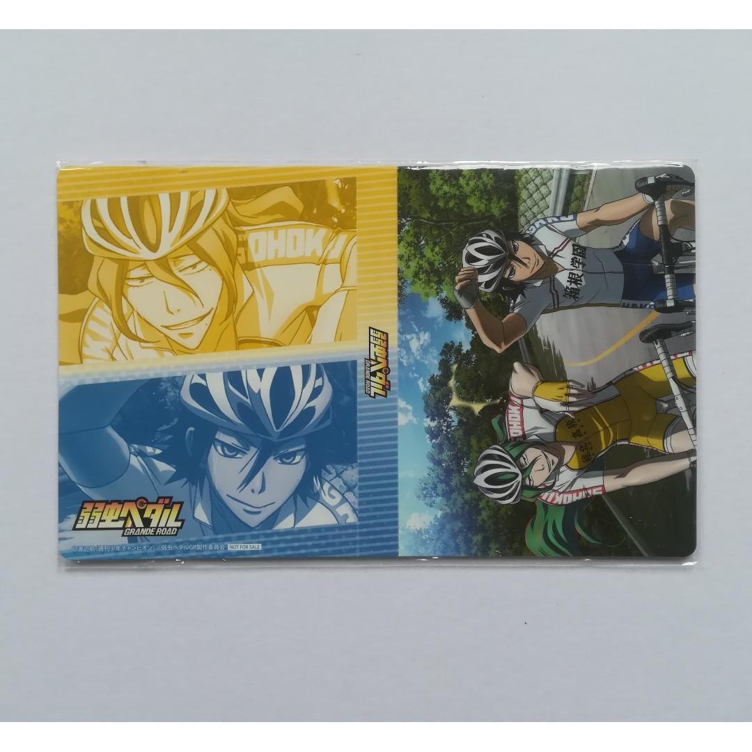 Yowamushi Pedal GRANDE ROAD - Makishima Yusuke & Jinpachi Toudou - Bromide Holder / Photo Holder / Photo Album