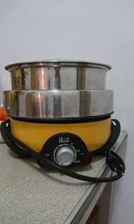🚚 上豪304不鏽鋼三層火烤料理鍋