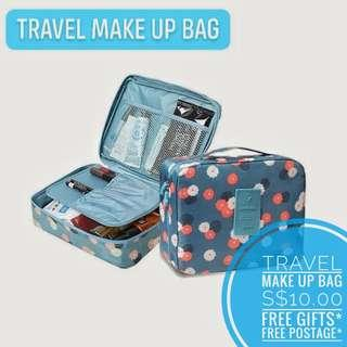 🚚 ✈️ Travel Make Up Bag 🚗