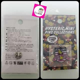 Hysteric Mini 襟章