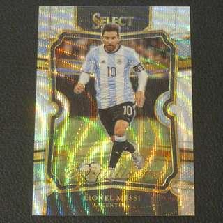 17/18 Panini Select Soccer Equalizer - Lionel MESSI #Argentina