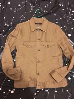 collect point olive light jacket