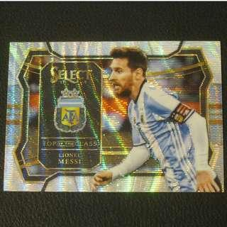 17/18 Panini Select Soccer Top of the Class - Lionel MESSI #Argentina