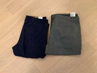 Used Gap chino pants (trousers, 褲)