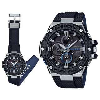 100% Authentic Casio Gshock Gsteel Bluetooth GSTB100XA Carbon Fibre with FREE DELIVERY 📦 G-Shock