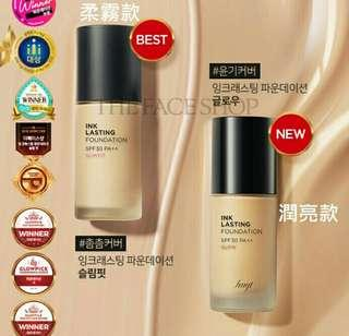 The face shop粉底液