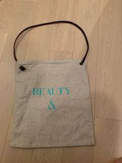 Brand New Beauty & Youth 2-way tote bag (united arrows)