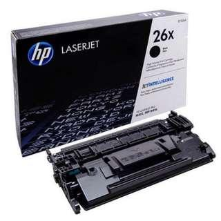 HP 26X Black LaserJet Toner Cartridge (CF226X)