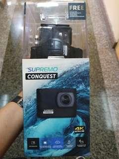 "Supremo Conquest 4K action camera 2019 ""FREE 16GB MICRO SD CARD"""