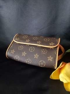 Louis Vuitton inspired belt bag