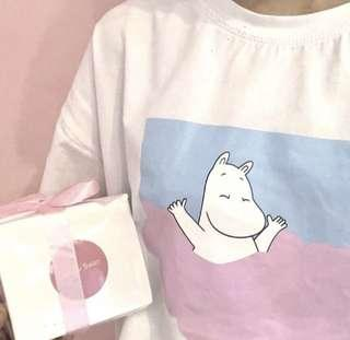 🚚 Moomin tumblr shirt