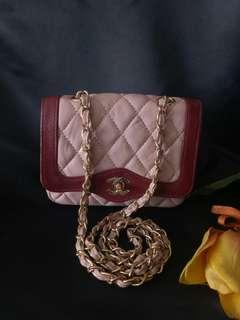 Chanel sling bag with holo