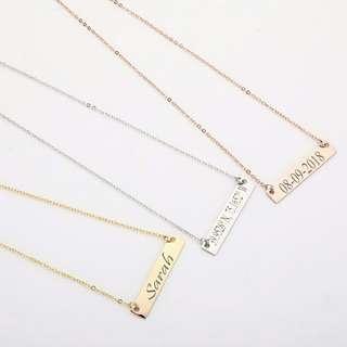 Necklace custom made