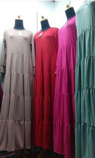 Gamis Jersey preloved like new