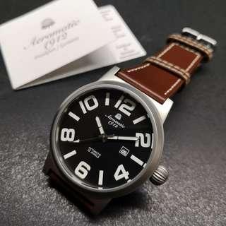 Aeromatic 德國飛機師腕錶 - A1361 (雙數字大飛)