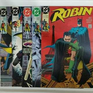 Robin No.1-5 comics