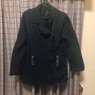 🚚 深藍色軍裝外套 M-L